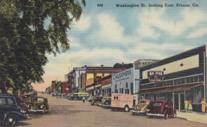 ATHENS , Georgia , 30-40s ; Washington Street
