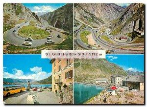 Modern Postcard St Gotthard Pass