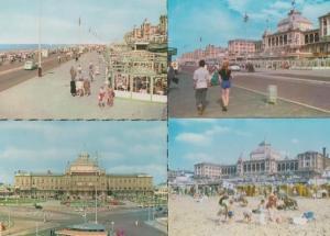 Scheveningen Boulevard 4x 1980s Postcard s