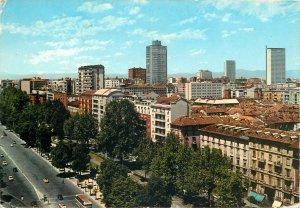 Postcard Italy Milano Panoramic foreshortening  Vittorio Veneto