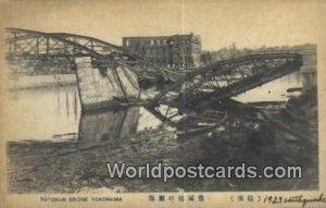 Toyokun Bridge 1923 earthquake Yokohama Japan Unused