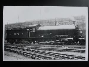 NER Steam Locomotive No.2274 RP Photocard