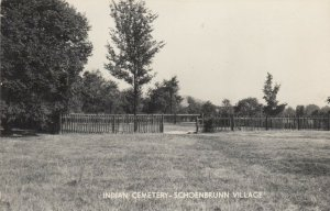 NEW PHILADELPHIA , Ohio , 1930-50s; Indian Cemetery - Schoenbrunn Village