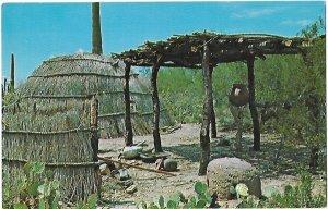 Papago now Tohono O'odham Beehive House Sonoran Desert Museum