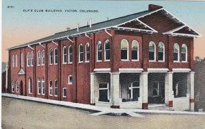 Colorado Victor Elk's Club Building sk1842