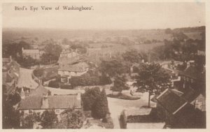 WASHINGBORO' , Lincolnshire , England , 1944 ; Bird's Eye View