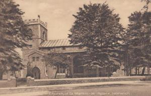 St Martin At Palace Church Norwich Antique Mint Postcard