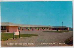Garden of the Gulf Motel, Summerside PEI