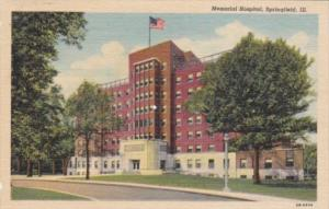 Illinois Springfield Memorial Hospital 1951 Curteich