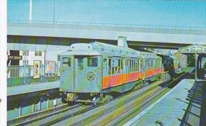 Trains Boston M T A 0969 Laconia Built Rapid Transit Cars At City Square Char...