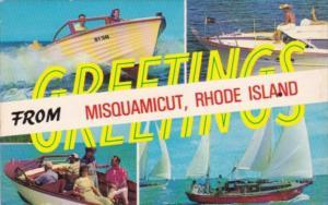 Greetings From Misquamicut Rhode Island