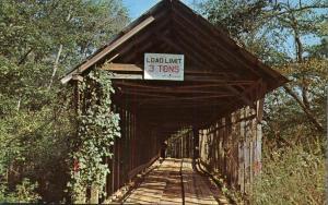 Duck Springs Covered Bridge - Keener AL, Alabama