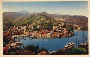 PORTOFINO, Panorama, Liguria, Italy, 10-20s