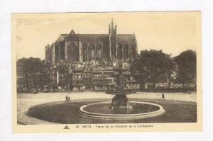 Place De La Comedie Et La Cathedrale, Metz (Moselle), France, 1900-1910s