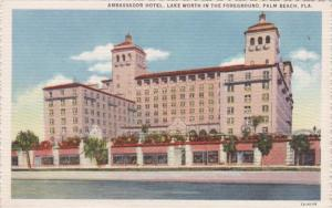 Florida Palm Beach The Ambassador Hotel Curteich
