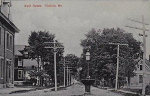Maine Dixfield Weld Street