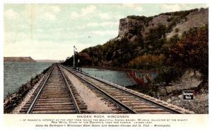 Wisconsin  Maiden Rock , Train Track