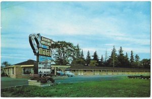 Diamond Horseshoe Motel Wellington Rd. S. London Ontario Canada