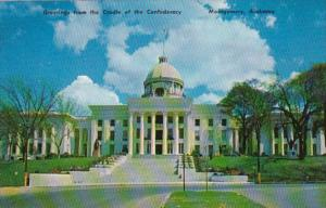 Alabama Mobile State Capitol Building Greetings From The Cradle Of The Confed...