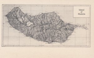Island of MADEIRA , Portugal , 00-10s ; Map