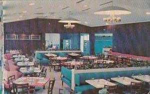 Ohio Toledo Interior Holiday House Restaurant 1956