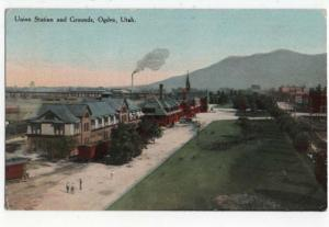 Ogden, Utah,  Early View of Union Station and Grounds