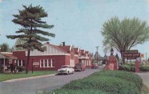 Exterior,  Penn-Daw Motor Hotel and Restaurant,  Alexandria,  Virginia,   40-60s