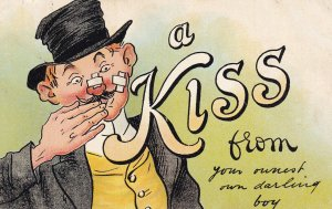 1900-1910's; A Kiss From Your Ownest Own Darling Boy