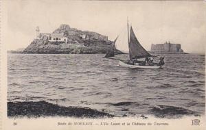 France Morlaix L'Ile Louet et le Chateau du Taureau