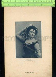 229532 PAVLOVA Russian Star BALLET DANCER Vintage POSTER