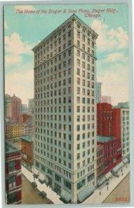 Chicago Illinois~Steger & Sons Piano Building~Marshall & Fox Skyscraper~1914 PC
