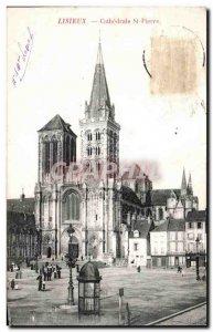 Old Postcard Lisieux Cathrdrale St Pierre