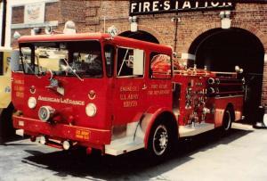 Fort Meade Maryland Reserve Engine Real Photo Vintage Postcard K99706