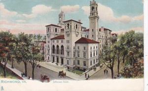 Virginia Richmond Jefferson Hotel Tucks