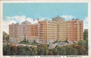 Washington D C The Shoreham Hotel 1936 Curteich