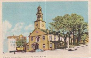HALIFAX, Nova Scotia, Canada, PU-1952; St. Paul's Anglican Church