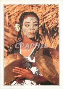 Postcard Modern co-mothers Bambao local Fete Island Ndzouani