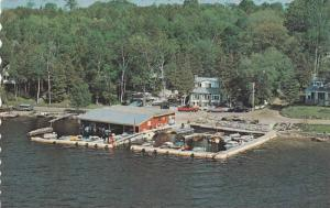McLaren's Marina & Cottages, On Sturgeon Lake In The Greenhurst-Thurstonia Se...