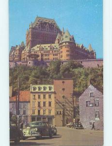 Unused Pre-1980 TOWN VIEW SCENE Quebec City QC p9008-12