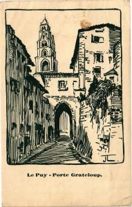 CPA Le PUY - Porte Grateloup (159864)