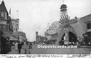 Dreamland Coney Island, NY, USA Amusement Park 1906