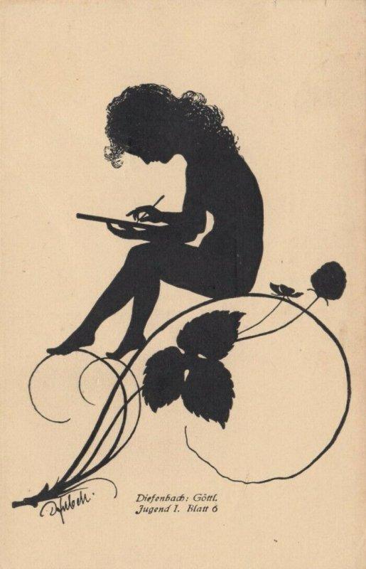 DIEFENBACH : Fantasy Silhouette , 00-10s ; Jugend I. Blatt 6