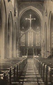 RP: Interior , St Mary's Church , DERBY , england , 00-10s