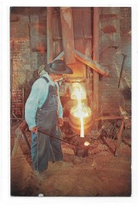 Brunnerville PA Iron Foundry Henry Bucher Ironmastser Vntg Mel Horst Postcard