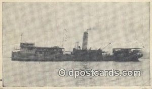 USS Klang, Lexington, KY, KY USA Steam Ship Writing on back