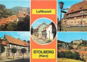 Germany Stolberg Harz Luftkurort multiview Postcard