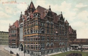 KANSAS CITY , Missouri , 1908 ; City Hall