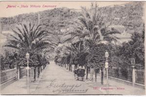 NERVI , Italy , 00-10s ; Viale Vittorio Emanuele