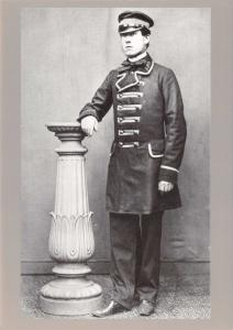 Postal History Postcard, GPO General Post Office Mail Guard 1861 V52