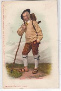 Vacher Uri Urnersenn - Man Smoking a Pipe